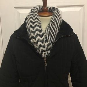 Chevron and Striped Infinity Scarf